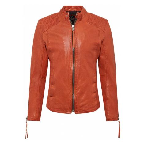 tigha Prechodná bunda 'Nero'  oranžová