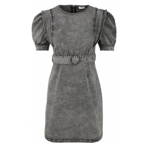 Noisy May Petite Šaty 'Lisa'  sivý denim