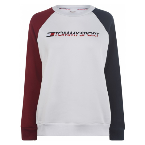 Tommy Sport Colour Block Crew Sweatshirt Tommy Hilfiger
