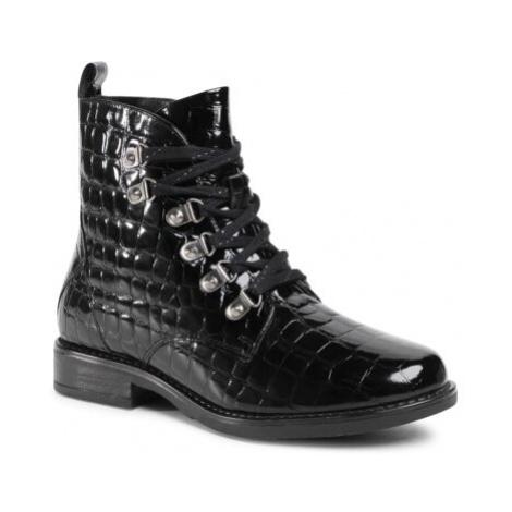 Šnurovacia obuv Lasocki WI16-ALBA3-03 Prírodná koža(useň) - Lakovaná