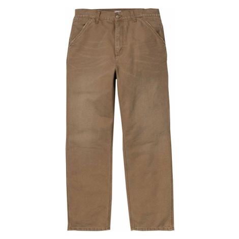 Carhartt WIP Single Knee Pant Hamilton Brown aged canvas-34-34 hnedé 1026463_HZ_3K-34-34