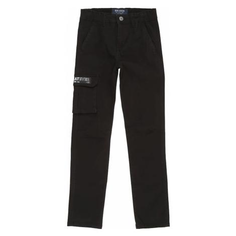 BLUE SEVEN Nohavice  čierna / biela