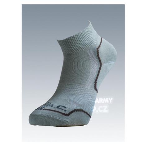 Ponožky so striebrom Batac Classic short - light green