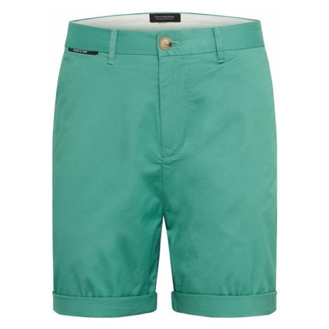 SCOTCH & SODA Chino nohavice  zelená