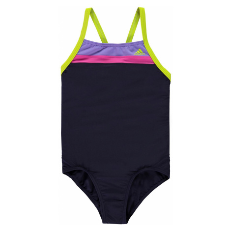 Adidas Fit One Piece Swimsuit Junior Girls Noble Ink