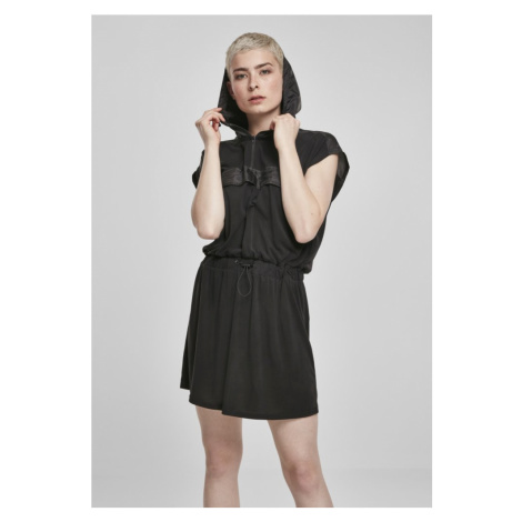 Šaty Urban Classics Ladies Modal Hoody Dress