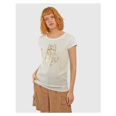Tričko La Martina Woman Viscose Voile T-Shirt