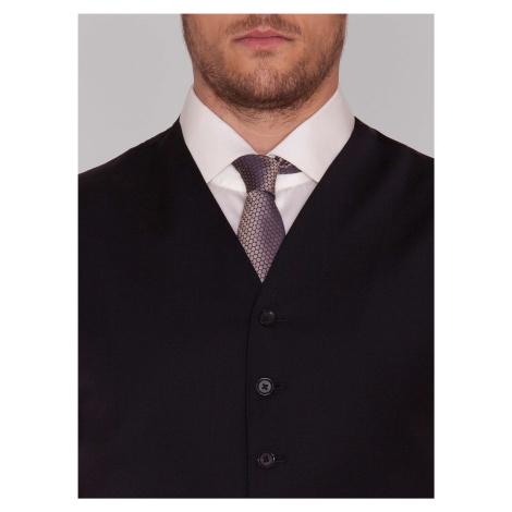 Pánska vesta Pietro Filipi čierna