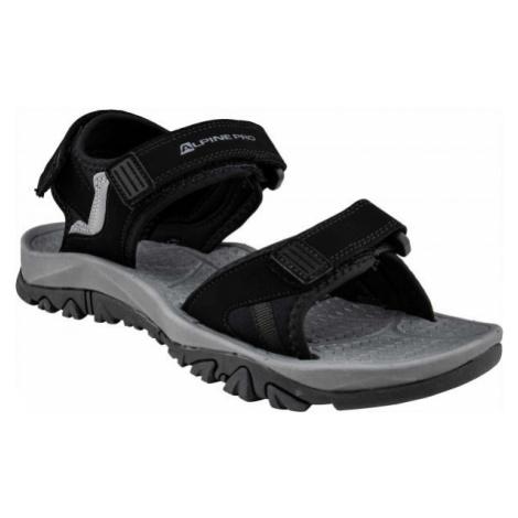 ALPINE PRO ALMAN čierna - Pánske sandále