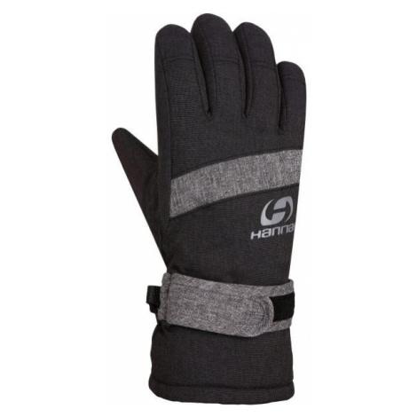 Hannah CLIO čierna - Detské zateplené rukavice