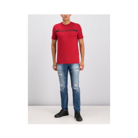 Emporio Armani Slim fit džínsy 6G1J06 1D6PZ 0942 Tmavomodrá Slim Fit