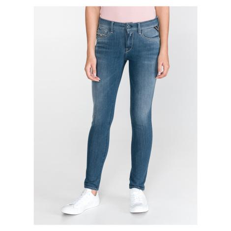 New Luz Jeans Replay Modrá
