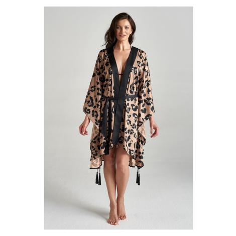 Suzana Perrez Woman's Cover Up Kimono Caroline Malibu