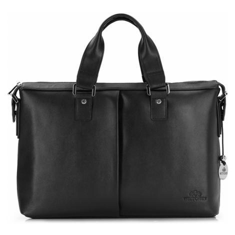 Luxusná taška na notebook z kolekcie City Leather Wittchen