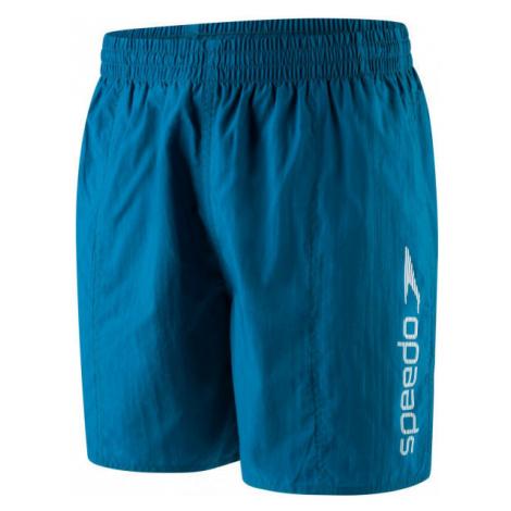 Speedo SCOPE 16 WATERSHORT modrá - Pánske plavecké šortky