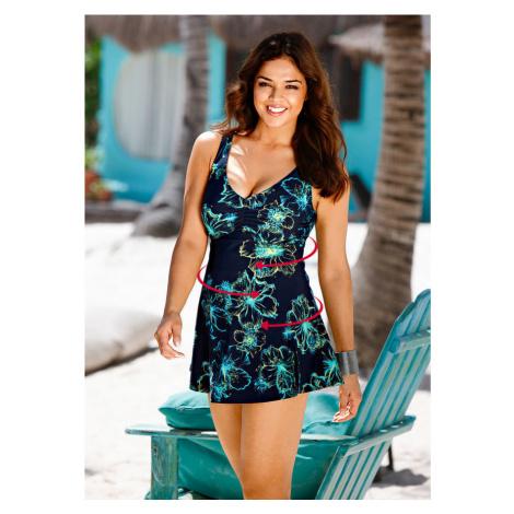 Tvarujúce plavkové šaty level 3 bonprix