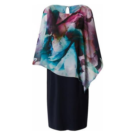 Vera Mont Šaty  tmavomodrá / zmiešané farby