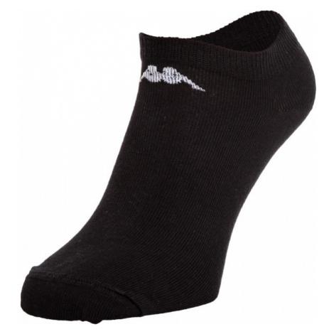 Kappa TESAZ 3PACK čierna - Ponožky