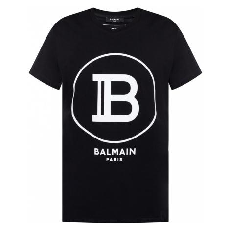 BALMAIN Paris Logo pánske tričko