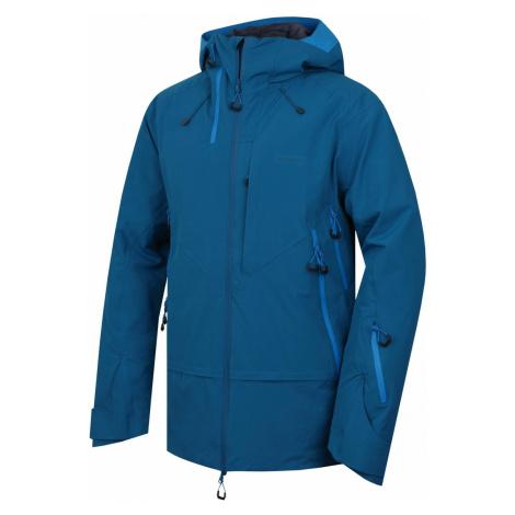 Husky Gambola tm.modrá, Pánska hardshell bunda