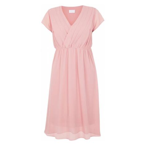 MAMALICIOUS Letné šaty  ružová Mama Licious