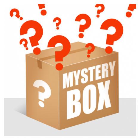 MYSTERY BOX - 5PACK dámske trenky Styx športová guma viacfarebné