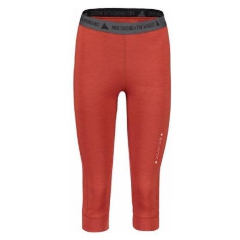 Maloja SIGNURIAM PANTS červená - Dámske spodky