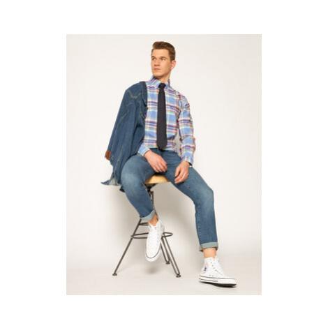 Wrangler Slim fit džínsy Larston W18SV777W Modrá Slim Fit