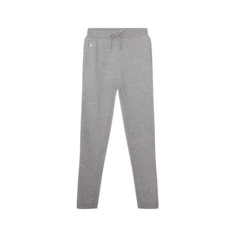 Polo Ralph Lauren Teplákové nohavice Fleece Leggi 312698768004 Sivá Regular Fit