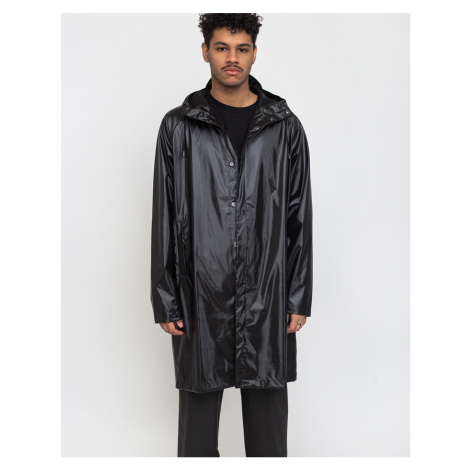 Rains Coat 76 Shiny Black