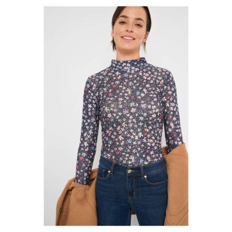 Čipkované, kvetinové tričko Orsay