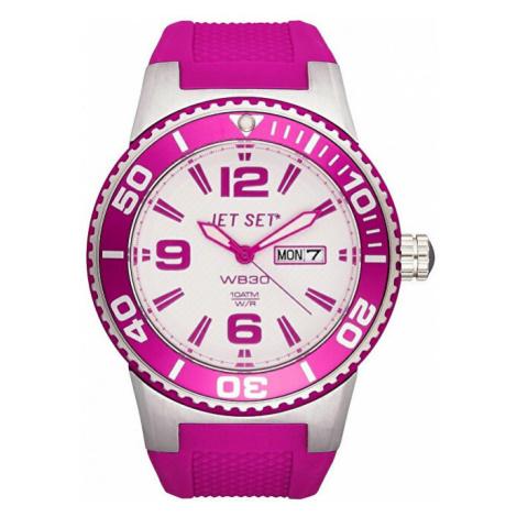 Jet Set Analogové hodinky WB30 J55454-166 s vodotěsností ATM