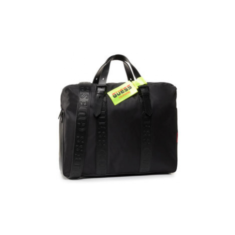 Guess Taška na laptop Dan (NYLON) HMDNNY P0213 Čierna