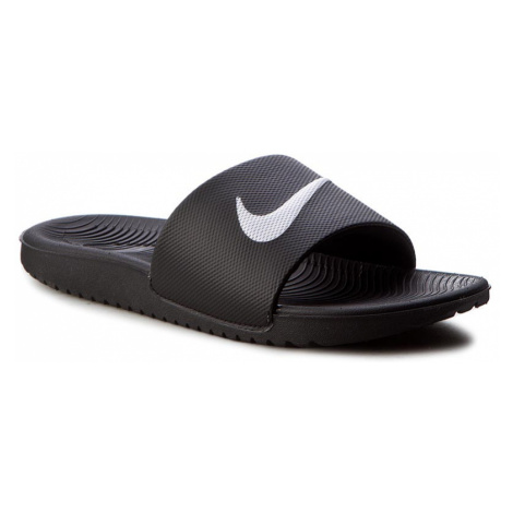Šľapky NIKE - Kawa Slide (GS/PS) 819352 001 Black/White