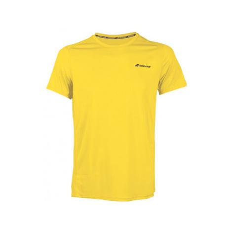 Detské Tričko Babolat Core Flag Club Tee Boy Yellow