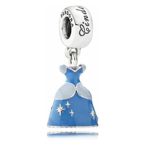 Pandora Strieborný prívesok Disney Šaty Popolušky 791578ENMX