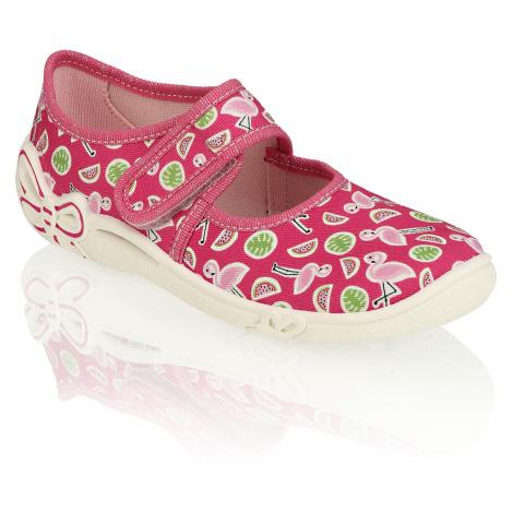 Superfit textil domáca obuv ružová