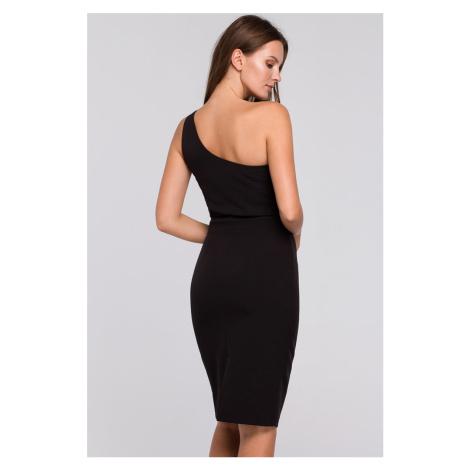 Čierne šaty K003