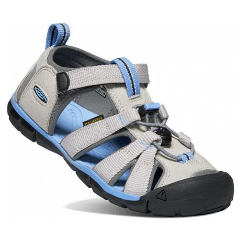 KEEN Detské sandále SEACAMP II CNX JUNIOR vapor / steel grey