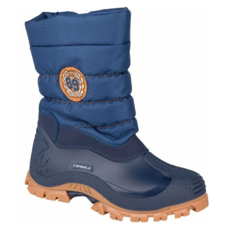 Spirale COLORADO čierna - Detská zimná obuv