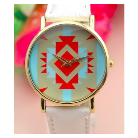 Dámske hodinky AZTEC - biele