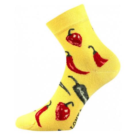 Boma PATTE 039 žltá - Vysoké ponožky