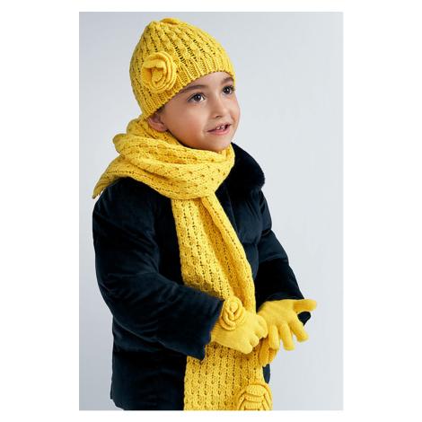 Mayoral - Detská čiapka, šál komín a rukavice