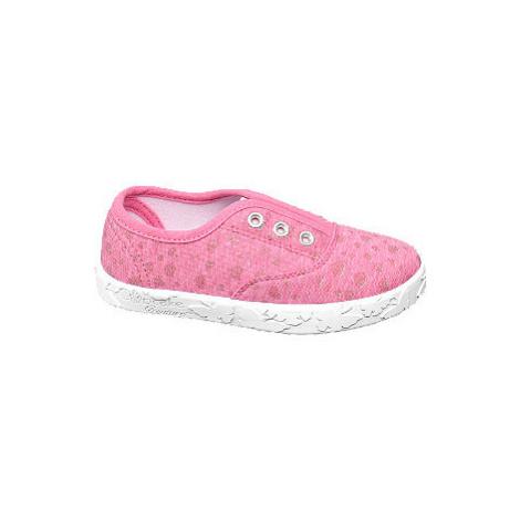 Ružové prezuvky Cupcake Couture