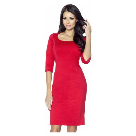 Červené šaty Domenica I Bergamo