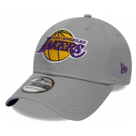 New Era 39THIRTY NBA TEAM LOS ANGELES LAKERS šedá - Pánska šiltovka