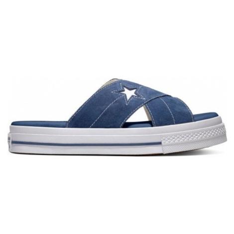 Converse ONE STAR SANDAL tmavo modrá - Dámske šľapky
