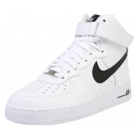 Nike Sportswear Členkové tenisky 'Air Force'  čierna / biela