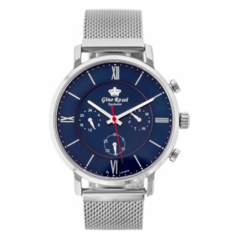 Elegantné pánske hodinky Gino Rossi E6182B-6C1