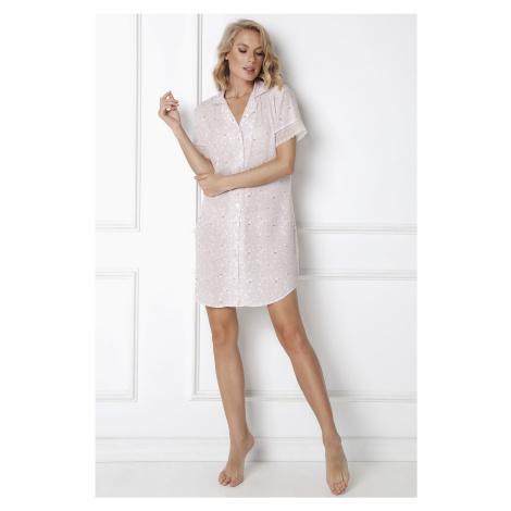 Nočná košieľka Aruelle Jennifer Nightdress Světle růžová